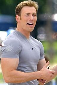 Chris evans bodybuilding chris evans arm workout