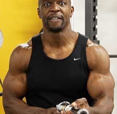 terry crews arm workout