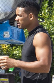 will smith arm workout